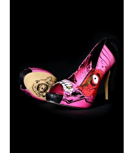 Iron Fist High Heels Gold Digger