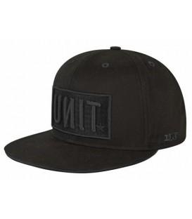 Unit Snapback Cap Reset Black