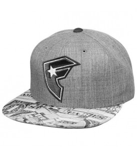 Famous Stars and Straps Snapback Cap Cash Flow Black