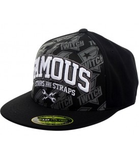 Famous Stars and Straps Caps Twitch Bolt Proof 210 Fitted