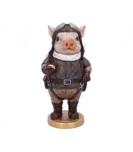 Nemesis Now Steampunk Figur Pig Pilot