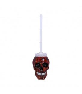 Nemesis Now Toilettenbürstenhalter Inferno Skull