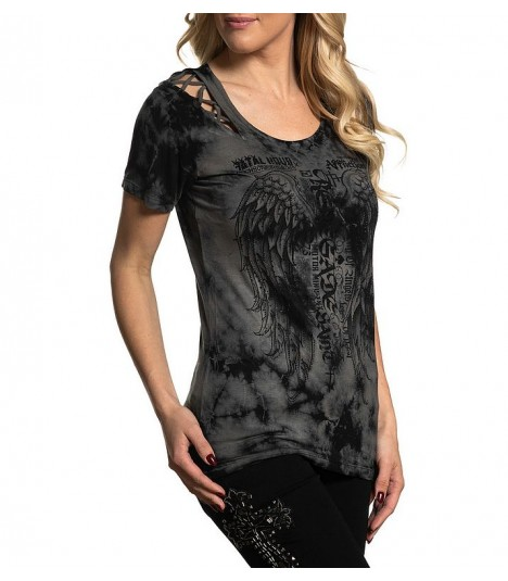 Affliction Shirt Highway Rebel