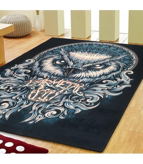 Barmetal Teppich Mandala Owl 200x149 CM