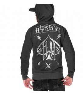 Hyraw Zip Hoody Ace of Spades