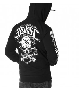 Hyraw Zip Hoody Stay Fckng Hard