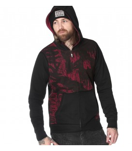 Hyraw Zip Hoody Red Hell