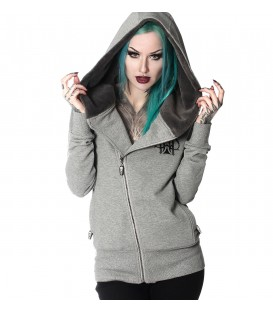 Hyraw Zip Hoody Ace of Spades Damen