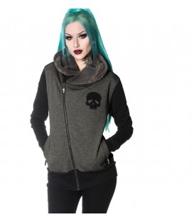 Hyraw Zip Hoody Death Shadow