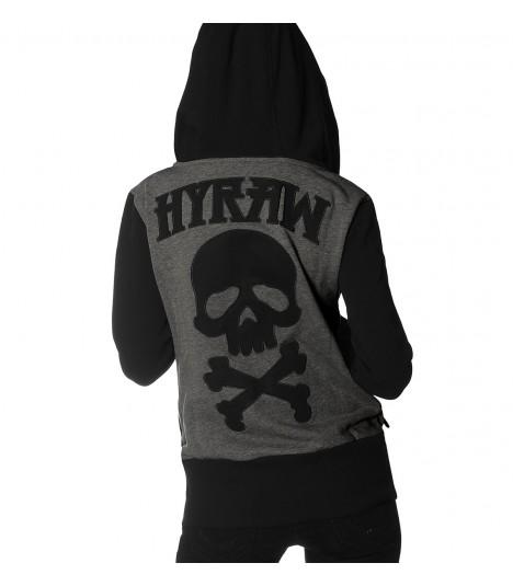 Hyraw Zip Hoody Death Shadow