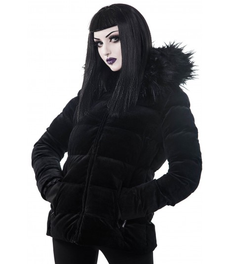 Killstar Winterjacke Lisa Luna