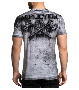 Affliction Shirt AC Native Petrol