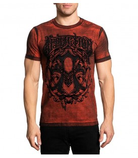 Affliction Shirt Iconic Steel