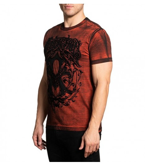 Affliction Shirt Iconic Steel