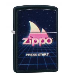 Zippo Feuerzeug Gaming Press Start