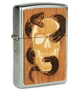 Zippo Woodchuck Skull and Snake