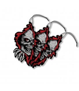 Lethal Angel Auto Lufterfrischer 3er Set Ripper Skull