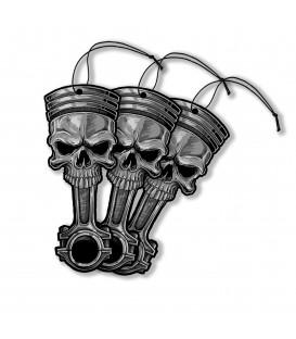 Lethal Angel Auto Lufterfrischer 3er Set Skull Piston