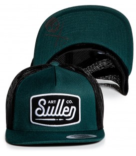 Sullen Trucker Snapback Cap Brush