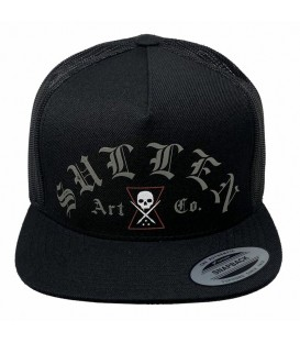 Sullen Trucker Snapback Cap Widow Maker