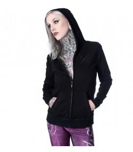 Hyraw Zip-Hoody Black