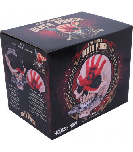 Five Finger Death Punch Schatulle Skull Box