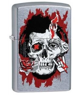 Zippo Zine Culture Skull