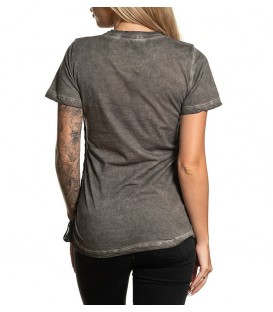 Affliction Shirt Rossellini Grey