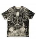 Xtreme Couture Shirt Ivory Bones