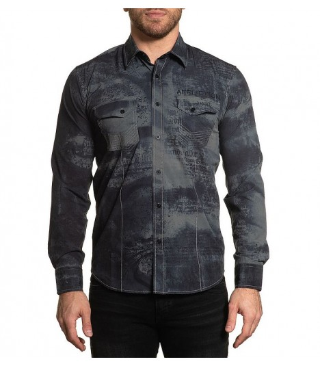 Affliction Hemd Traction