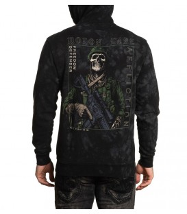 Affliction Zip-Hoody Snakehead