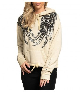 Affliction Hoody Whispering Thoughts