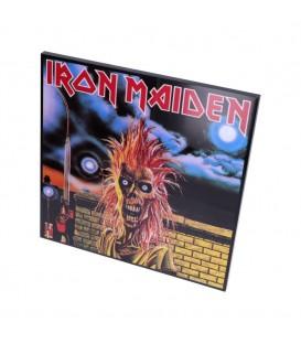 Iron Maiden Hochglanz Bild hinter Glas