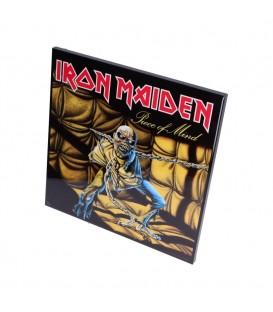Iron Maiden Piece of Mind Hochglanz Bild hinter Glas