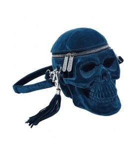 Killstar Handtasche Grave Digger Blue