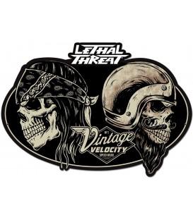 Metallschild Vintage Velocity
