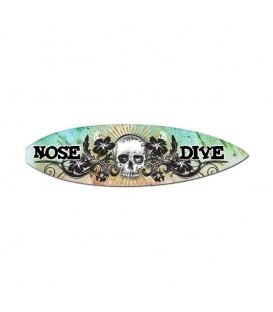 Metallschild Nose Dive