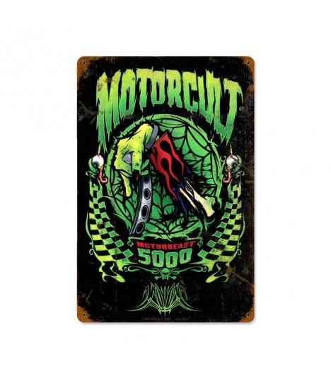 Metallschild Motorcult