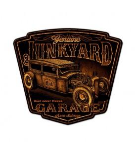 Metallschild Junk Yard