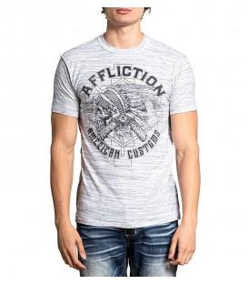 Affliction Shirt Reversibe 2 in 1 Garage Horsepower