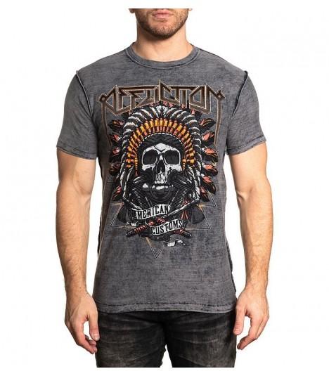 Affliction Shirt Reversibe 2 in 1 AC Native Rye