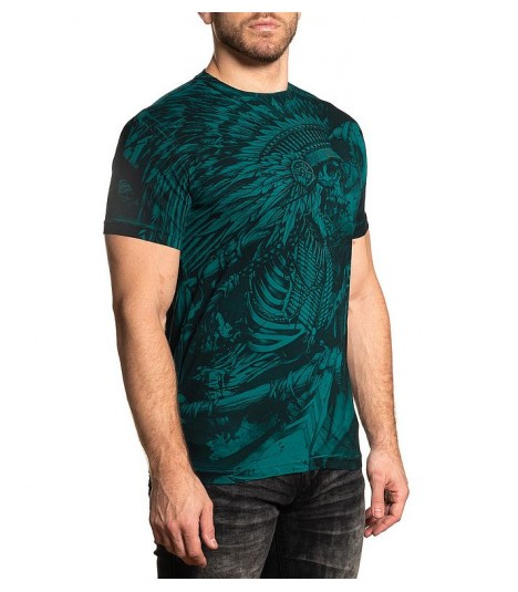 Affliction Shirt Cherokee Scream