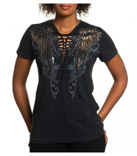 Affliction Shirt Angelic Wings