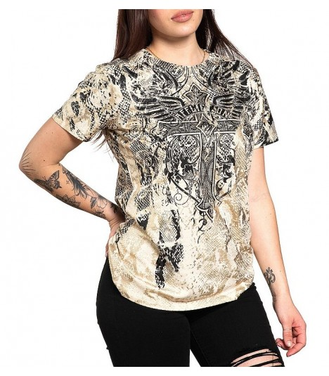 Affliction Shirt Mathilda Rose