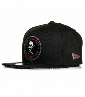 Sullen Snapback Cap Blaq Magic