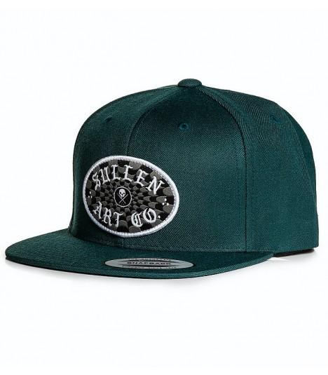 Sullen Snapback Cap Check Teal