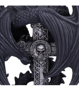 Nemesis Kerzenhalter Anne Stokes Gothic Guardian
