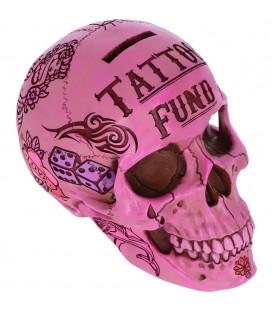 Nemesis Now Spardose Tattoo Fund Pink