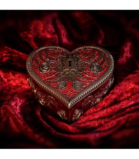 Nemesis Steampunk Schatulle Heart and Key