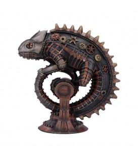 Nemesis Steampunk Figur Mechanical Chameleon